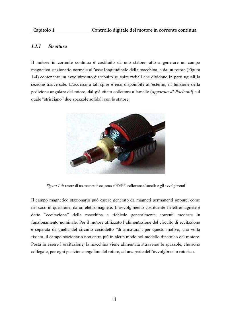 Anteprima della tesi: Controllo digitale di un banco freno per la caratterizzazione di motori elettrici, Pagina 6