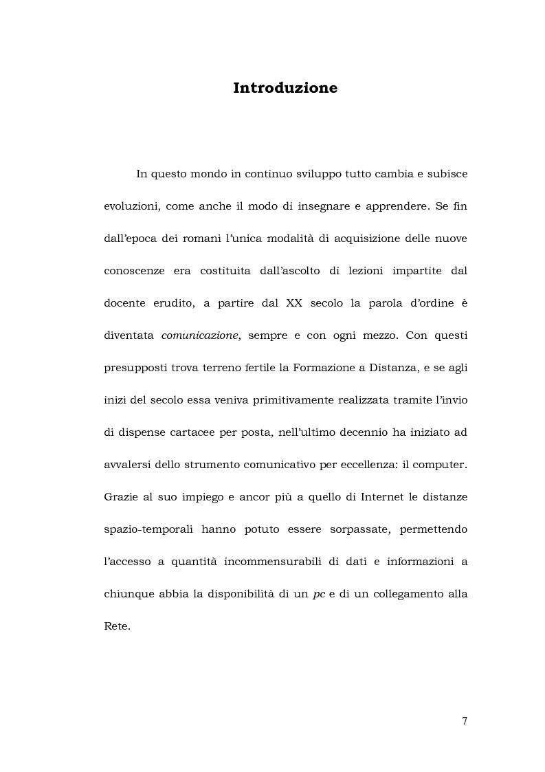 Anteprima della tesi: La formazione a distanza del traduttore, Pagina 1