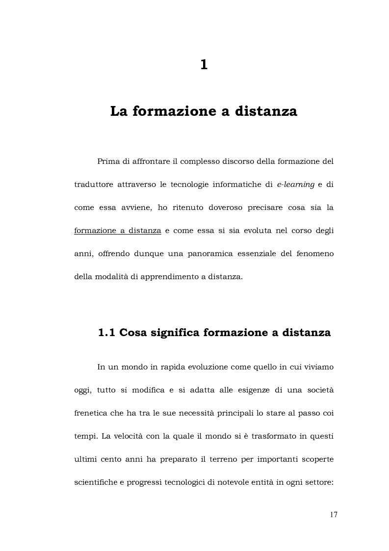 Anteprima della tesi: La formazione a distanza del traduttore, Pagina 11