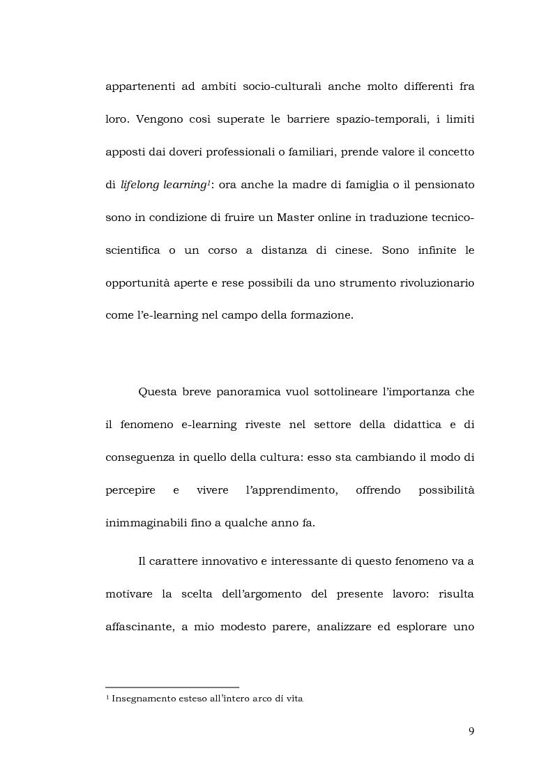Anteprima della tesi: La formazione a distanza del traduttore, Pagina 3