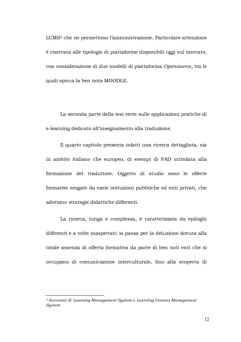 Anteprima della tesi: La formazione a distanza del traduttore, Pagina 6