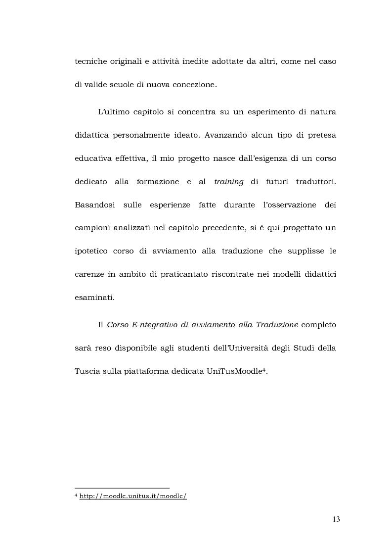 Anteprima della tesi: La formazione a distanza del traduttore, Pagina 7