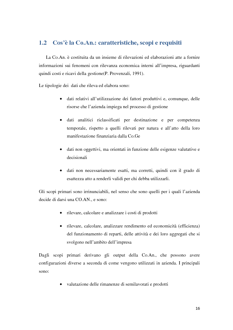 Anteprima della tesi: Il controllo di gestione e la misurazione della performance a supporto del cambiamento aziendale: dall'individuazione di problematiche alla ricerca di soluzioni, Pagina 13