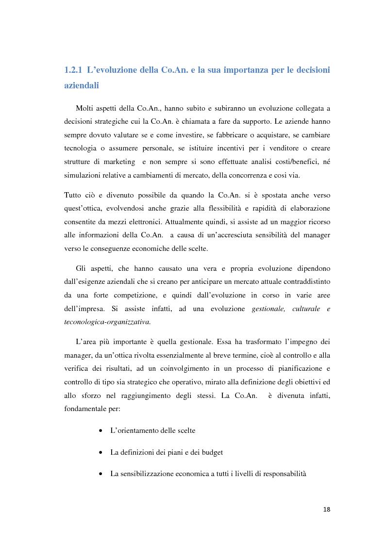 Anteprima della tesi: Il controllo di gestione e la misurazione della performance a supporto del cambiamento aziendale: dall'individuazione di problematiche alla ricerca di soluzioni, Pagina 15
