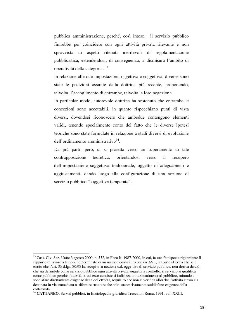 Anteprima della tesi: Il settore dell'energia elettrica tra obblighi di servizio pubblico e concorrenza, Pagina 13