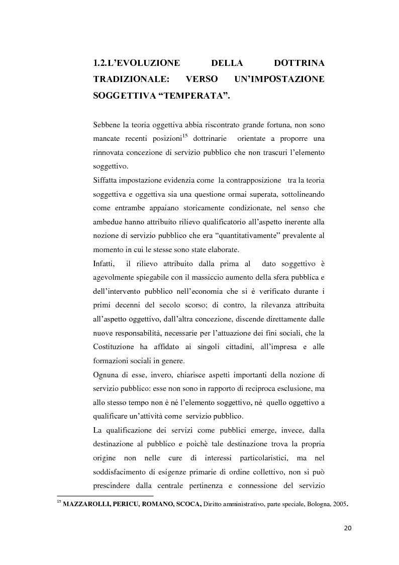Anteprima della tesi: Il settore dell'energia elettrica tra obblighi di servizio pubblico e concorrenza, Pagina 14