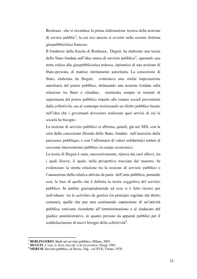 Anteprima della tesi: Il settore dell'energia elettrica tra obblighi di servizio pubblico e concorrenza, Pagina 6