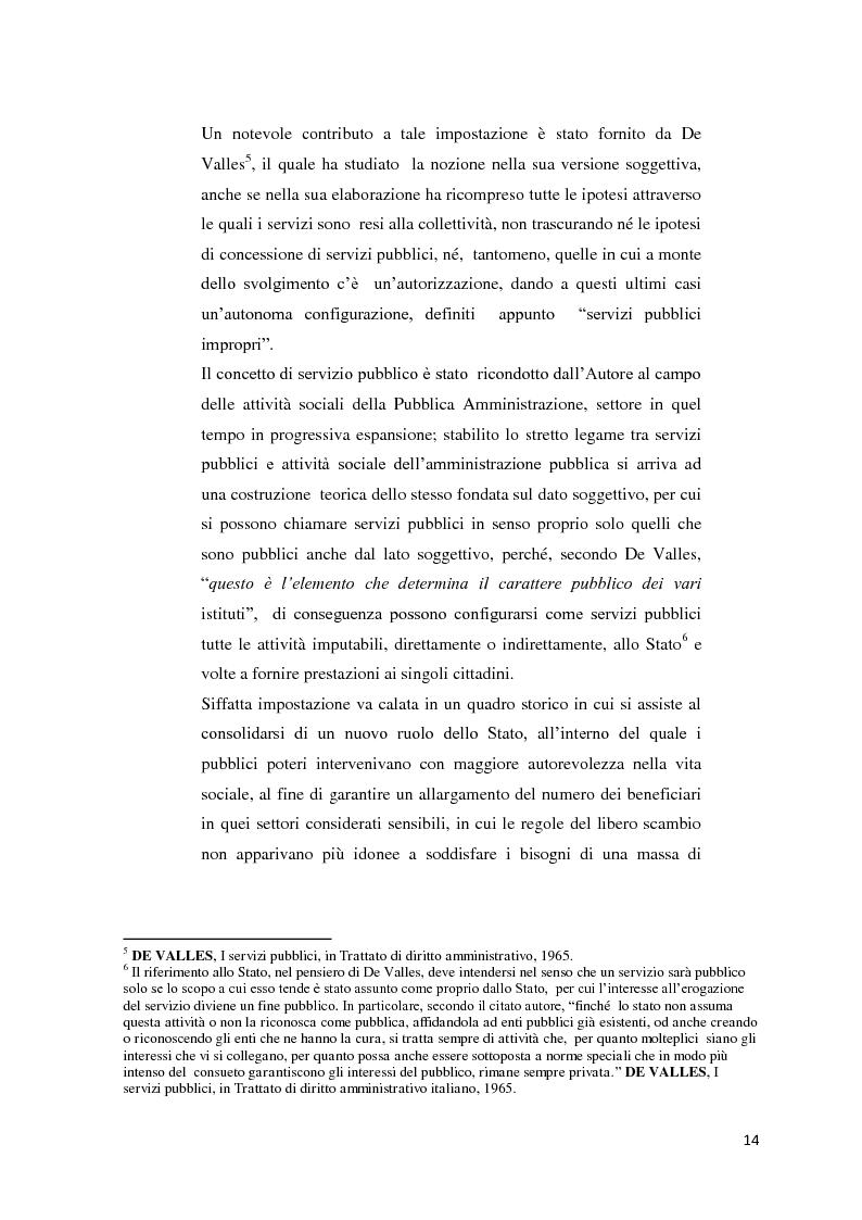 Anteprima della tesi: Il settore dell'energia elettrica tra obblighi di servizio pubblico e concorrenza, Pagina 8