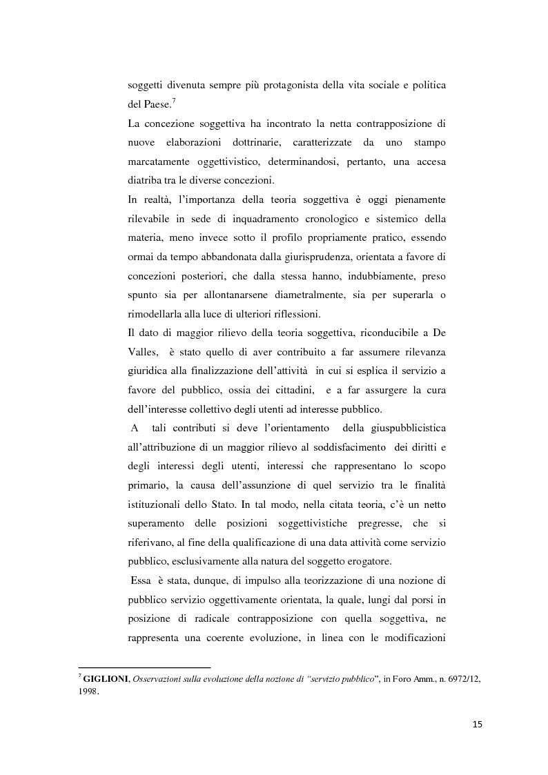 Anteprima della tesi: Il settore dell'energia elettrica tra obblighi di servizio pubblico e concorrenza, Pagina 9