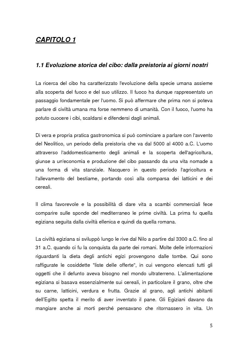 Anteprima della tesi: Aspetti identitari e culturali del consumo del caffè in Italia, Pagina 1