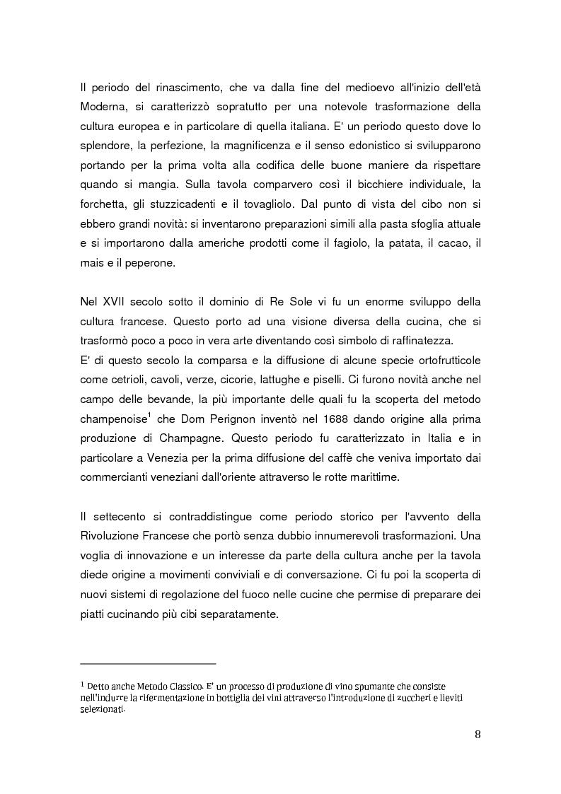 Anteprima della tesi: Aspetti identitari e culturali del consumo del caffè in Italia, Pagina 4