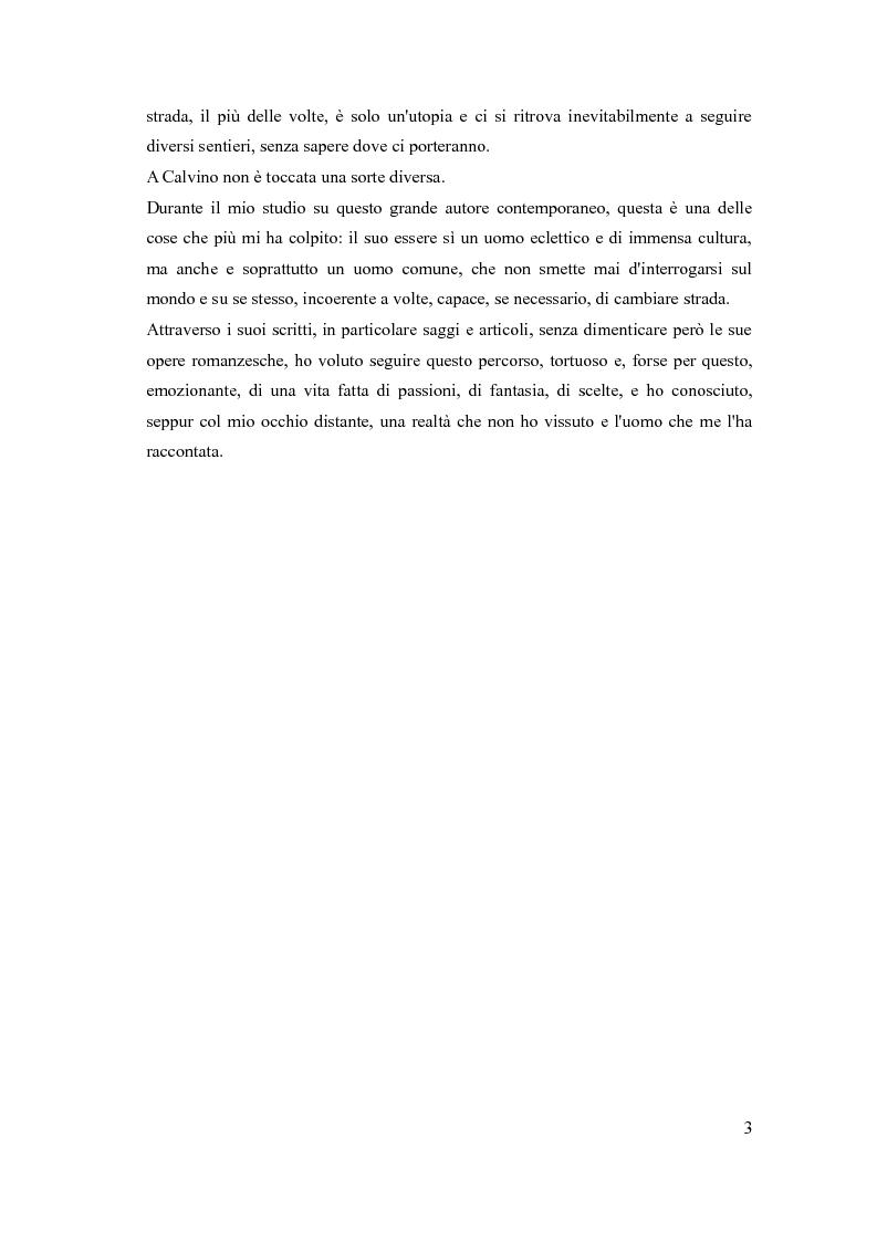 Anteprima della tesi: I sentieri di Italo Calvino, Pagina 3