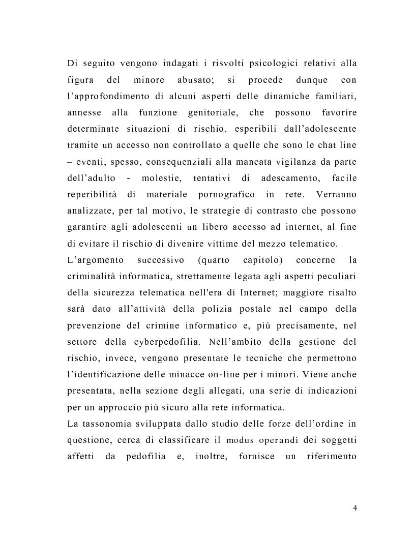 Anteprima della tesi: La tutela del minore nell'ottica dell'evoluzione del processo telematico: profili normativi e risvolti psicologici, Pagina 2