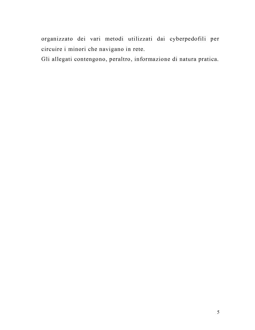 Anteprima della tesi: La tutela del minore nell'ottica dell'evoluzione del processo telematico: profili normativi e risvolti psicologici, Pagina 3