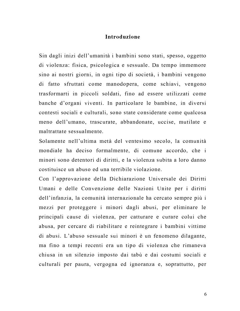 Anteprima della tesi: La tutela del minore nell'ottica dell'evoluzione del processo telematico: profili normativi e risvolti psicologici, Pagina 4