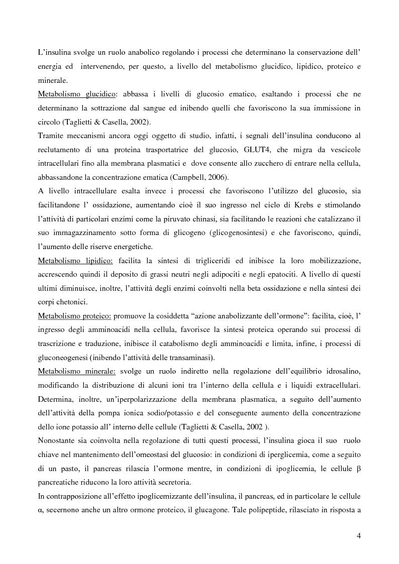 Anteprima della tesi: Studio della vitalità e della sopravvivenza cellulare in cellule beta pancreatiche immunoisolate in membrane di alginato, Pagina 5
