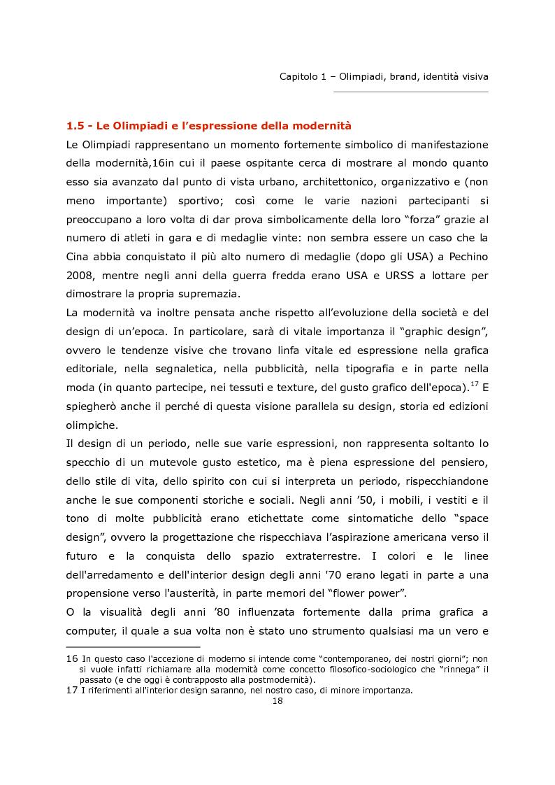 Anteprima della tesi: L'olimpiade come marca. Identità visiva e strategie di brand da Tokyo 1964 a Londra 2012., Pagina 14
