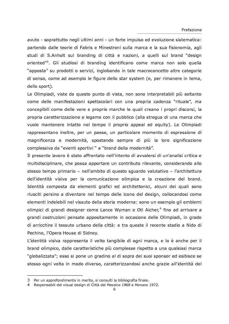 Anteprima della tesi: L'olimpiade come marca. Identità visiva e strategie di brand da Tokyo 1964 a Londra 2012., Pagina 2