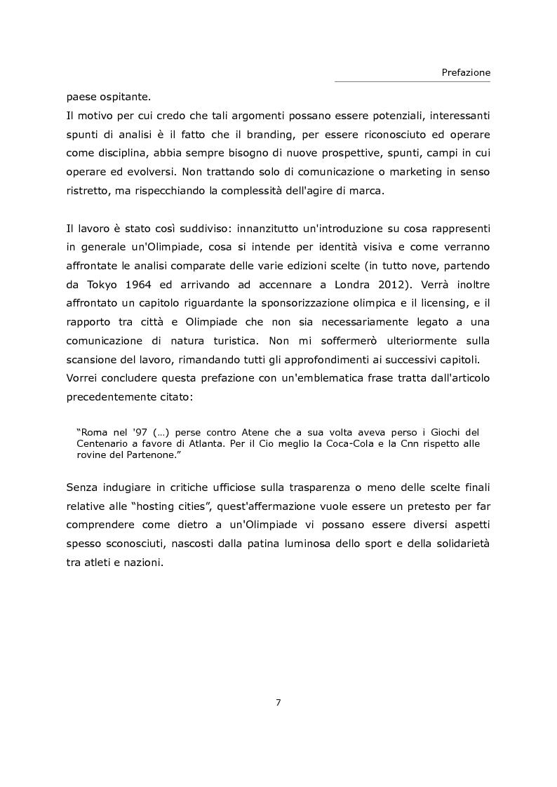 Anteprima della tesi: L'olimpiade come marca. Identità visiva e strategie di brand da Tokyo 1964 a Londra 2012., Pagina 3
