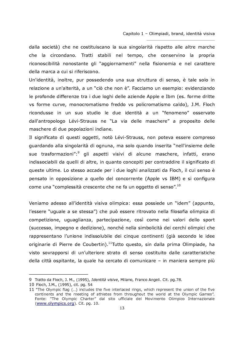 Anteprima della tesi: L'olimpiade come marca. Identità visiva e strategie di brand da Tokyo 1964 a Londra 2012., Pagina 9