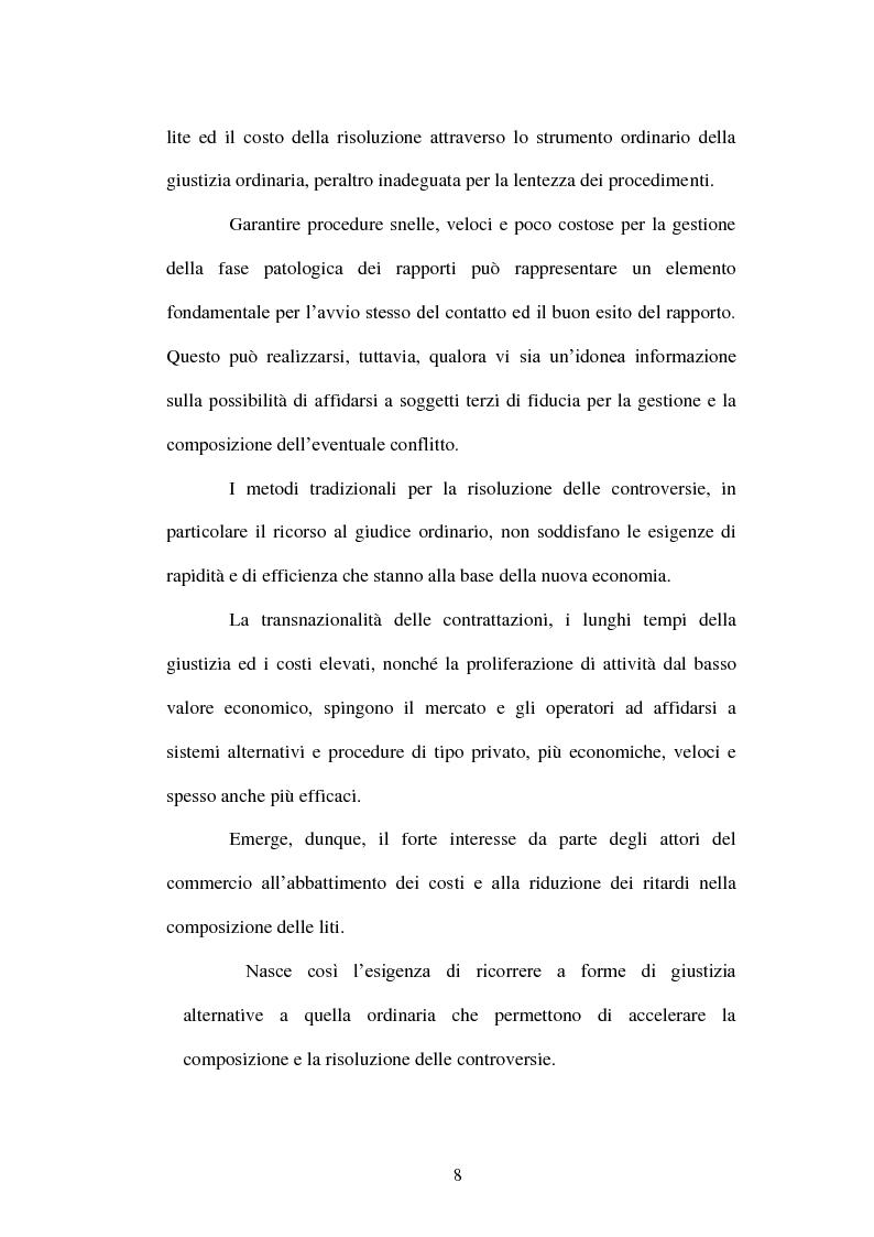 Anteprima della tesi: ECC-Net:un nuovo modello organizzativo per la risoluzione transfrontaliera dei conflitti, Pagina 3