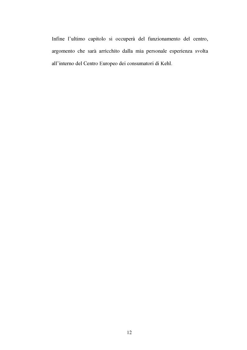 Anteprima della tesi: ECC-Net:un nuovo modello organizzativo per la risoluzione transfrontaliera dei conflitti, Pagina 7