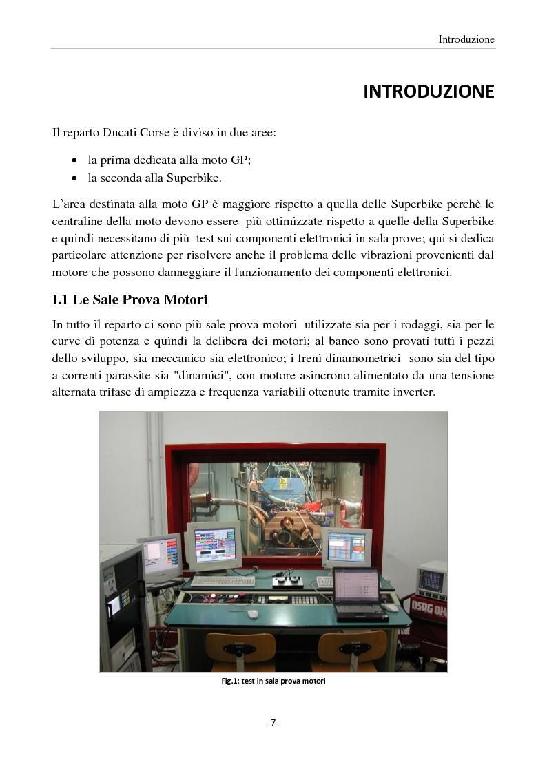 Anteprima della tesi: Sviluppo di una interfaccia per l'elaborazione di vibrazioni rilevate su motocicli Ducati, Pagina 1