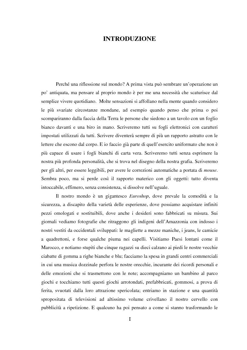 Anteprima della tesi: Genealogia dello spazio globale. Ricami del mondo, richiami della terra., Pagina 1
