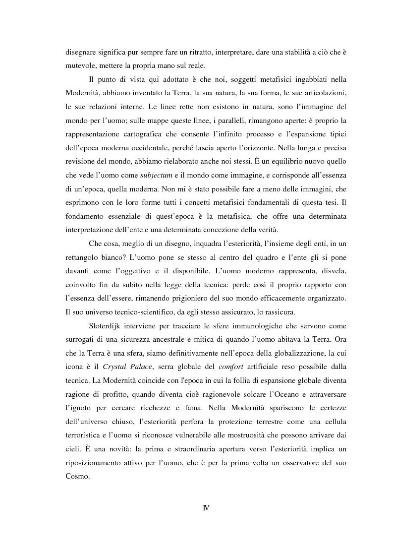 Anteprima della tesi: Genealogia dello spazio globale. Ricami del mondo, richiami della terra., Pagina 4