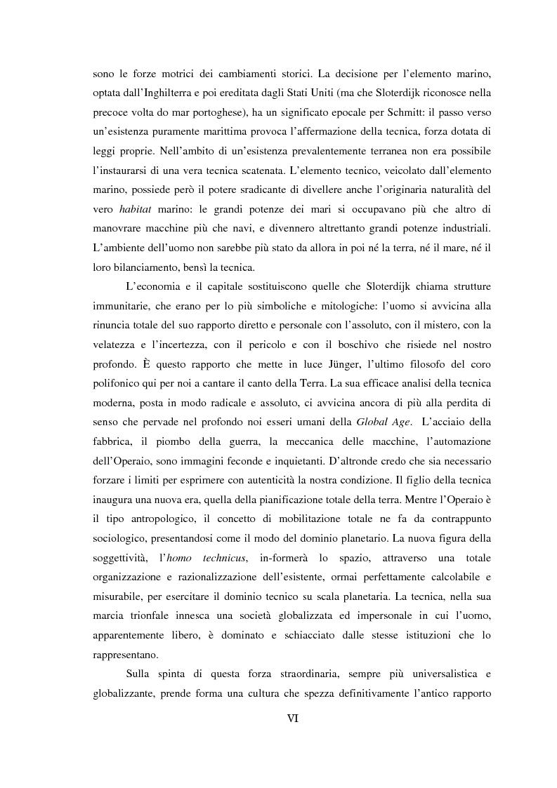 Anteprima della tesi: Genealogia dello spazio globale. Ricami del mondo, richiami della terra., Pagina 6