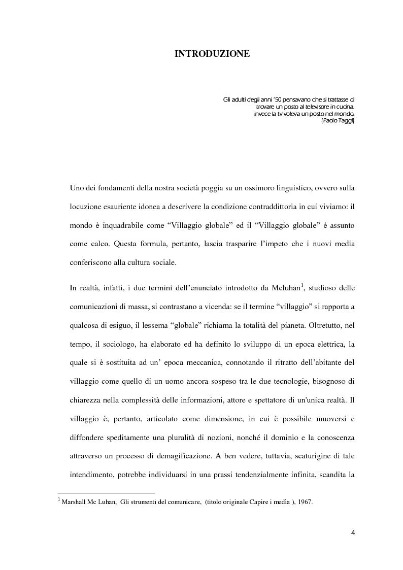 Anteprima della tesi: Il Format: un nuovo ''bene'' in cerca d'autore, Pagina 1