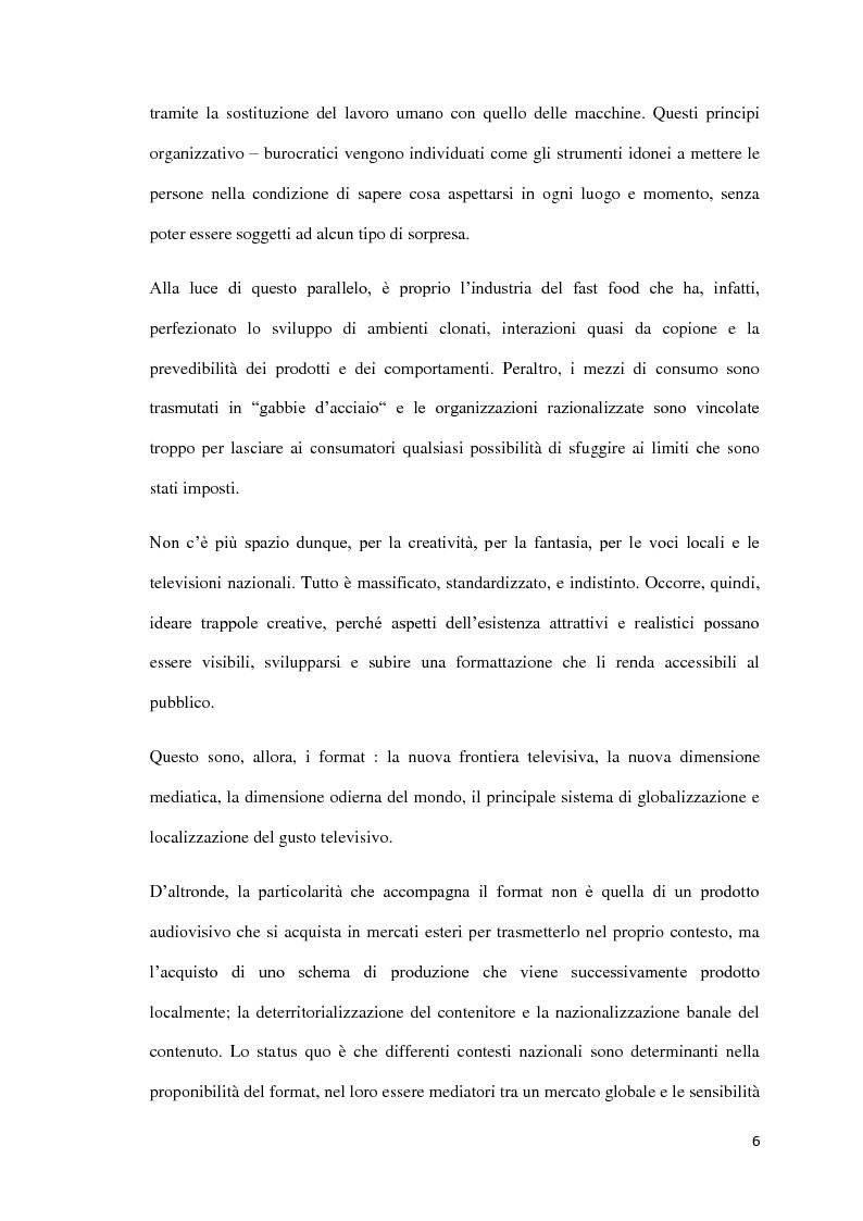 Anteprima della tesi: Il Format: un nuovo ''bene'' in cerca d'autore, Pagina 3