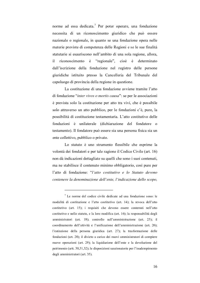 Estratto dalla tesi: Il bando scuola 2006 della Fondazione Cassa di Risparmio di Modena: un esercizio di valutazione