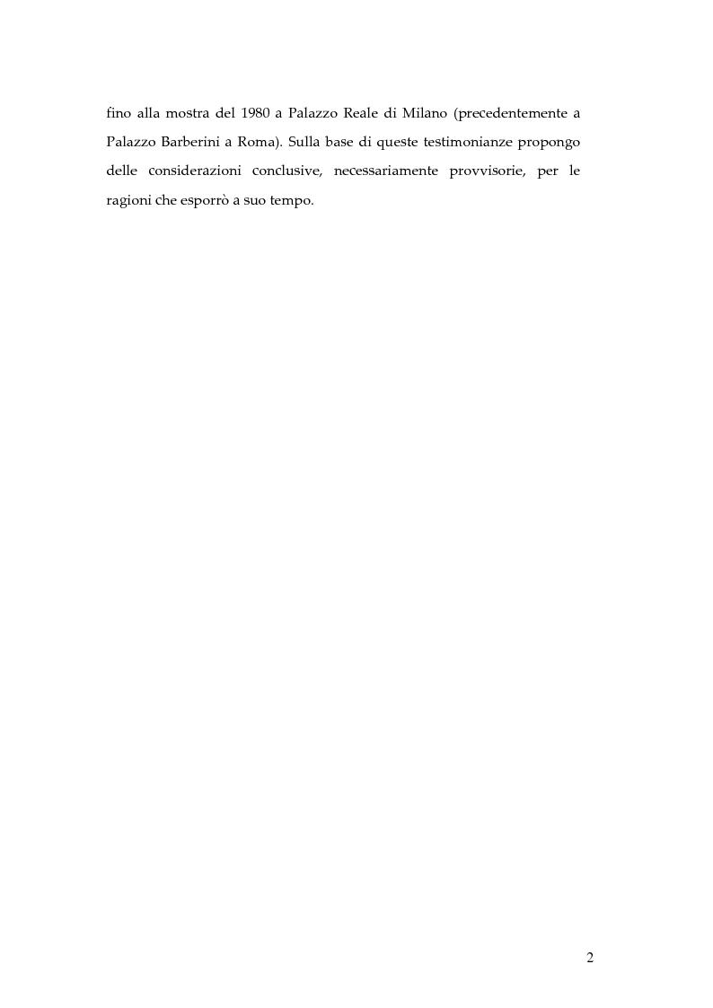 Anteprima della tesi: Hundertwasser e l'Italia 1955 - 1980. Testimonianze di una relazione., Pagina 2