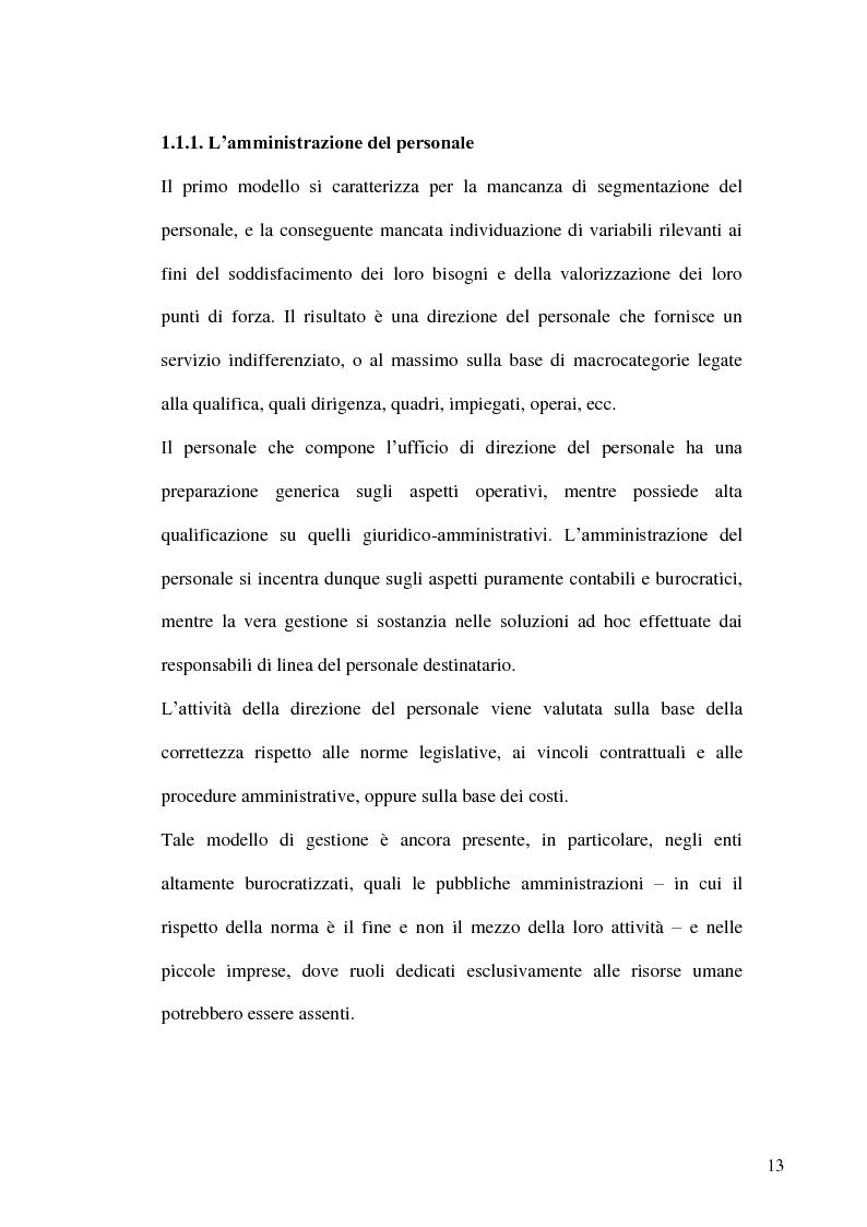 Anteprima della tesi: Gestione delle risorse umane in azienda e Management multiculturale, Pagina 10
