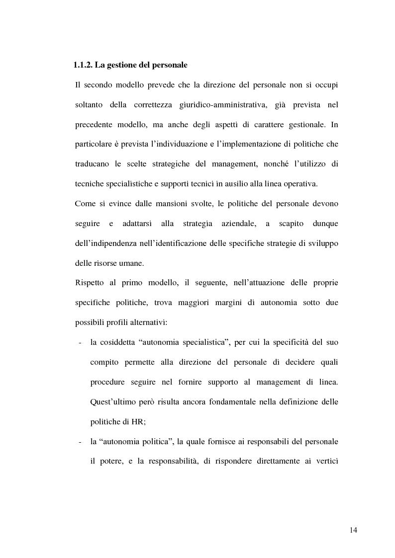 Anteprima della tesi: Gestione delle risorse umane in azienda e Management multiculturale, Pagina 11