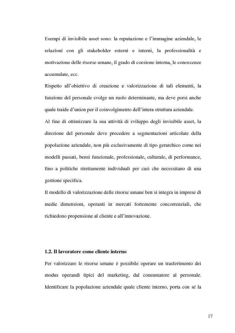 Anteprima della tesi: Gestione delle risorse umane in azienda e Management multiculturale, Pagina 14