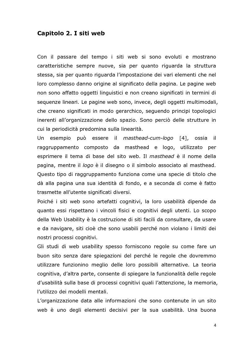 Anteprima della tesi: MCA Web Browser: indagine conoscitiva sulla valutazione di un sistema di supporto informatico agli studenti del corso CIM, Pagina 4