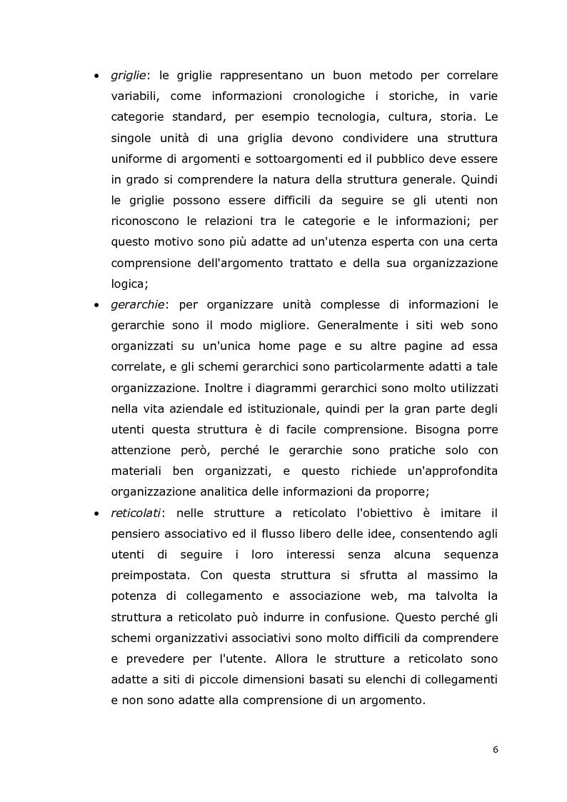 Anteprima della tesi: MCA Web Browser: indagine conoscitiva sulla valutazione di un sistema di supporto informatico agli studenti del corso CIM, Pagina 6