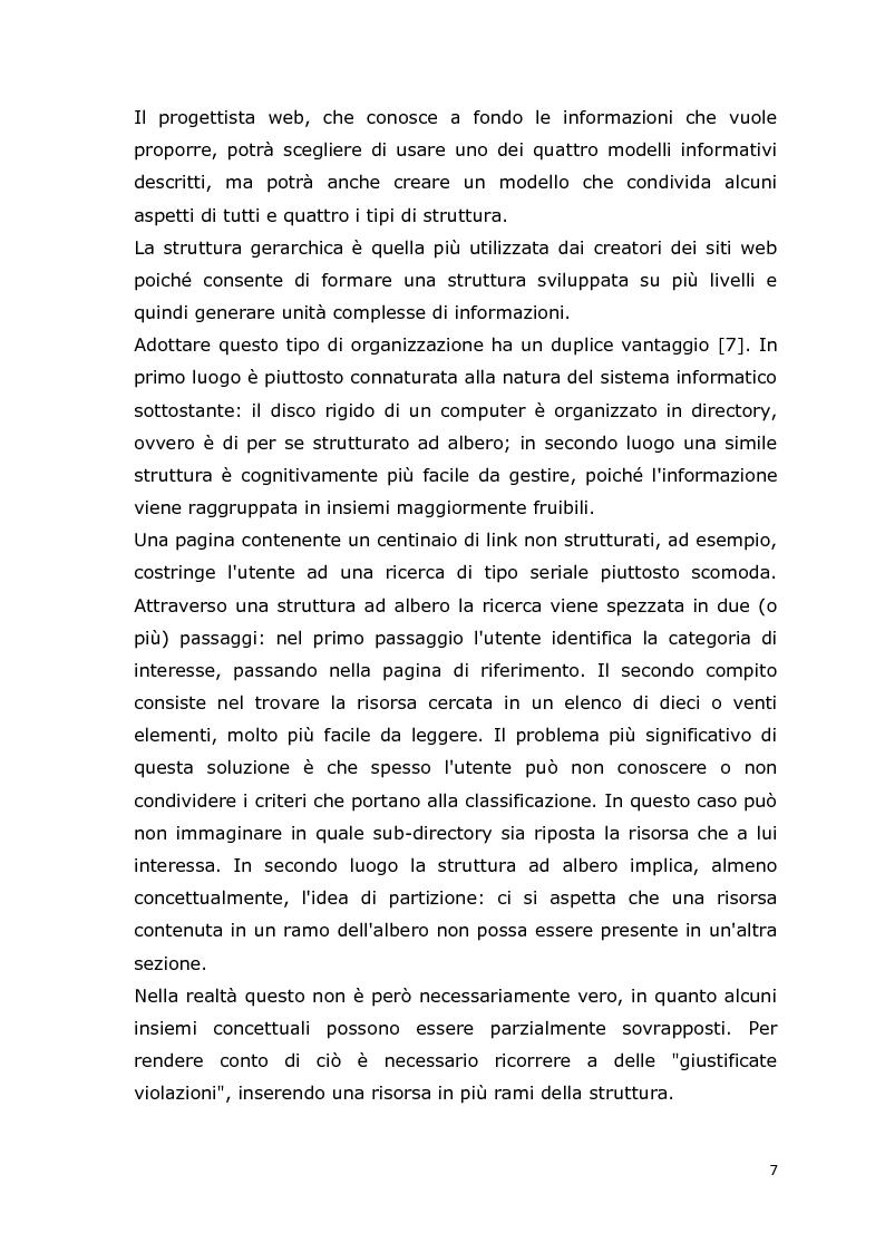 Anteprima della tesi: MCA Web Browser: indagine conoscitiva sulla valutazione di un sistema di supporto informatico agli studenti del corso CIM, Pagina 7