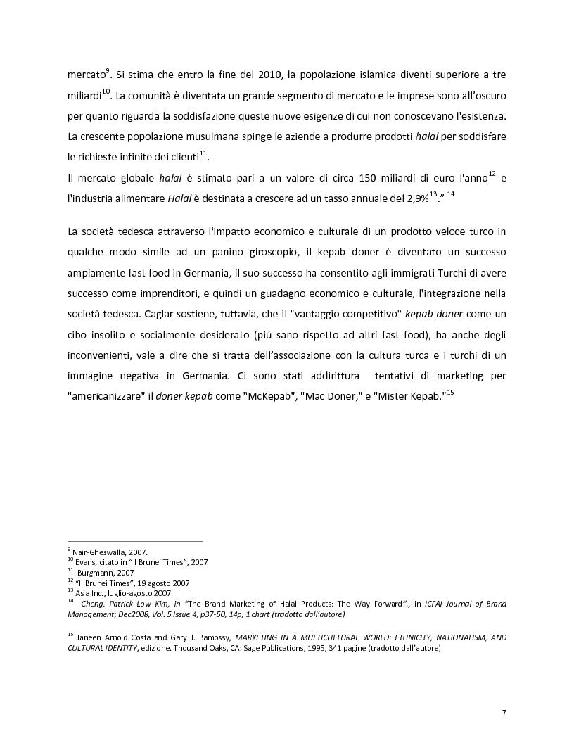 Anteprima della tesi: Marketing Halal, Pagina 4