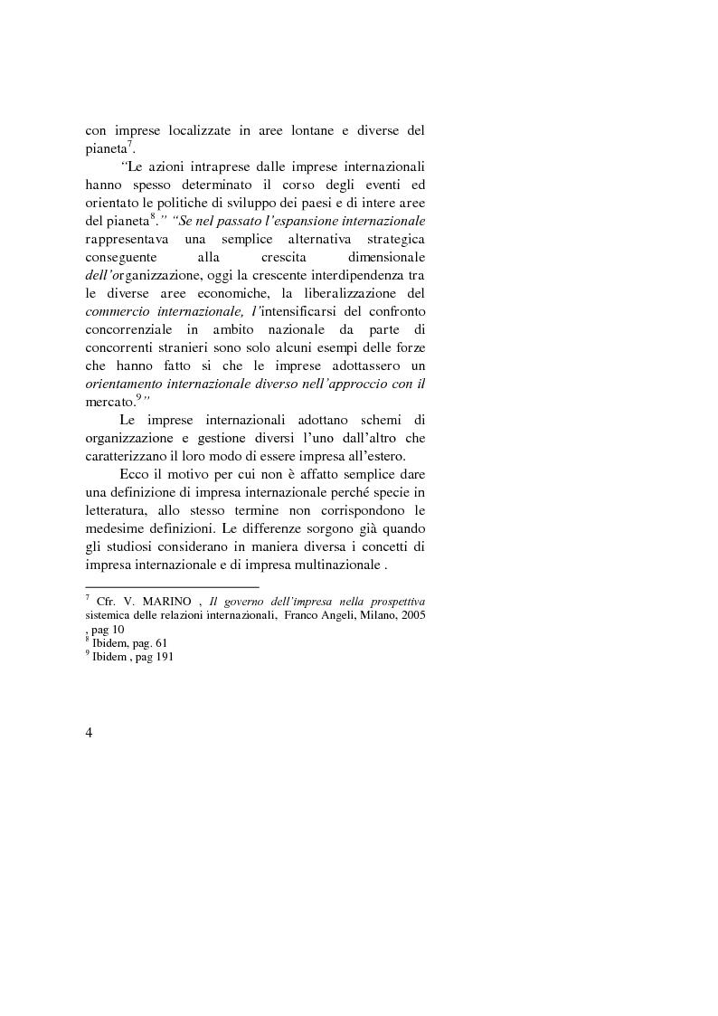 Anteprima della tesi: Il ruolo dell'importatore in uno scenario globale, Pagina 4