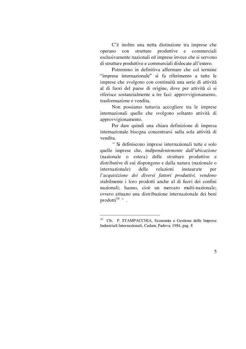 Anteprima della tesi: Il ruolo dell'importatore in uno scenario globale, Pagina 5