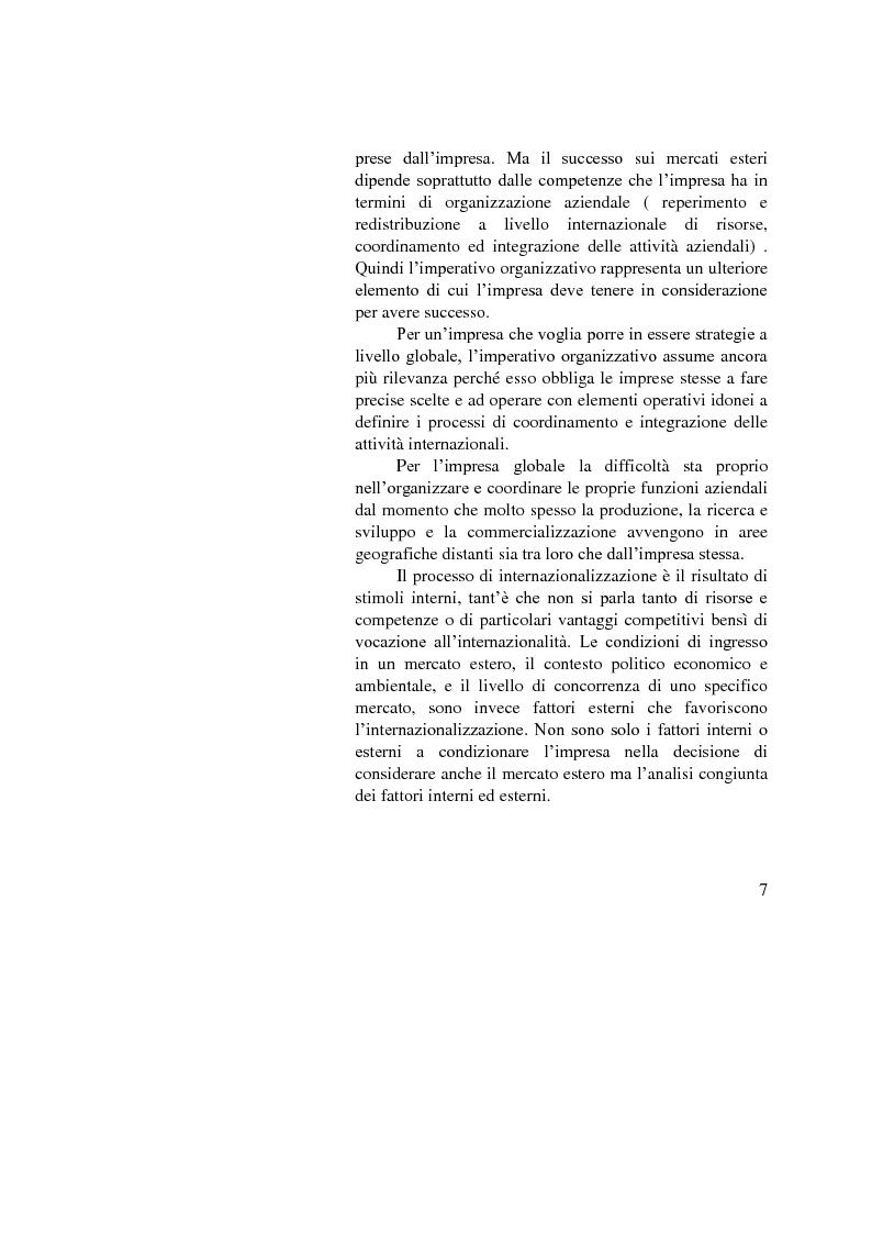 Anteprima della tesi: Il ruolo dell'importatore in uno scenario globale, Pagina 7