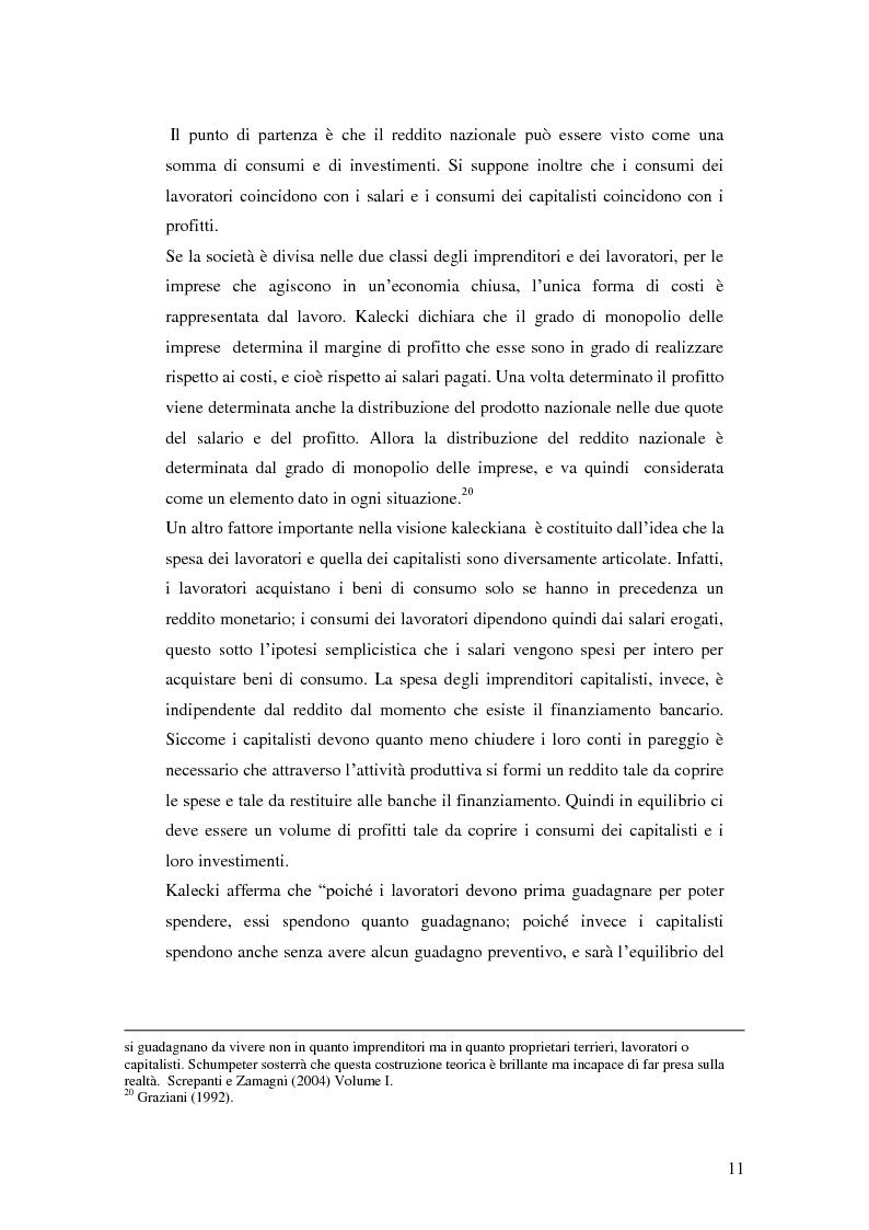 Anteprima della tesi: La distribuzione del reddito dentro e tra le classi sociali: un confronto internazionale, Pagina 11