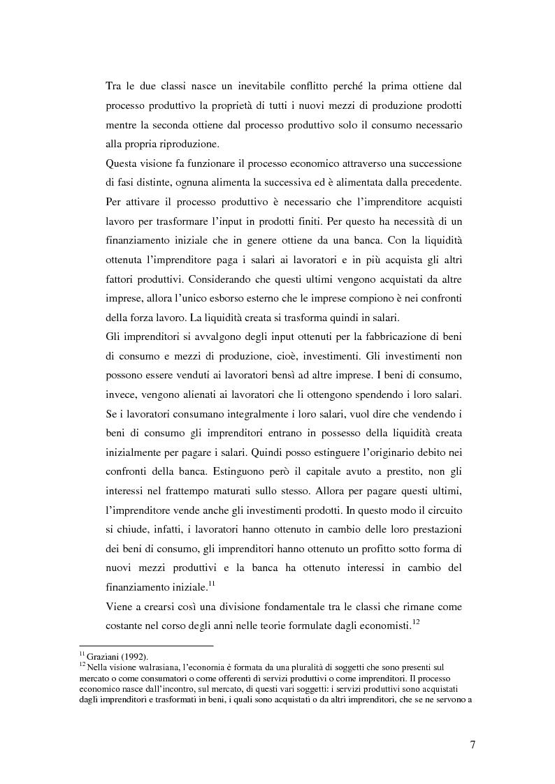 Anteprima della tesi: La distribuzione del reddito dentro e tra le classi sociali: un confronto internazionale, Pagina 7