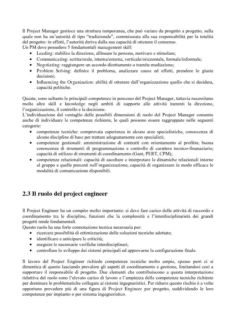 Anteprima della tesi: La gestione dei progetti d'ingegneria: applicazione alla costruzione di una galleria ferroviaria, Pagina 5