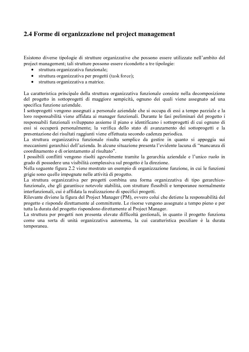 Anteprima della tesi: La gestione dei progetti d'ingegneria: applicazione alla costruzione di una galleria ferroviaria, Pagina 6