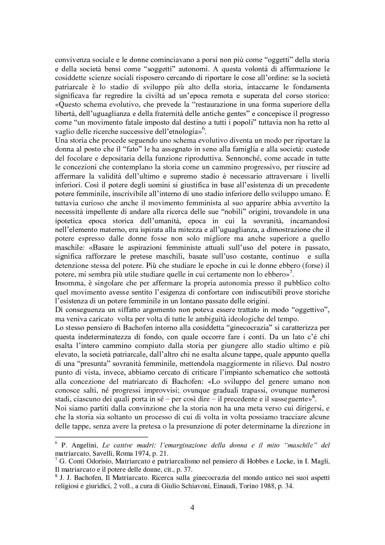 Anteprima della tesi: L'antropologia giuridica nell'opera di Johann Jakob Bachofen, Pagina 3