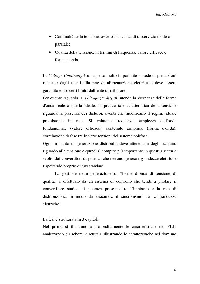 Anteprima della tesi: Implementazione su DSP TMS320F2812 di tecniche di sincronizzazione monofase, Pagina 2